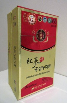 Box Korean Red Ginseng Extract